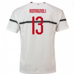 2018-2019 AC Milan Puma Away Football Shirt (Romagnoli 13)
