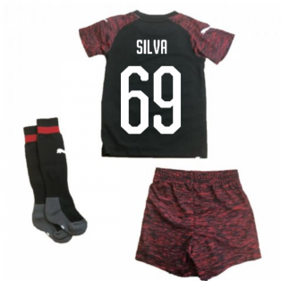 2018-2019 AC Milan Puma Third Mini Kit (Silva 69)