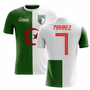 2018-2019 Algeria Home Concept Football Shirt (Mahrez 7)