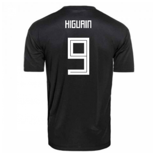 2018-2019 Argentina Away Adidas Football Shirt (Higuain 9) - Kids