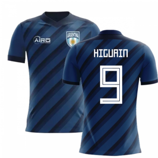 2018-2019 Argentina Away Concept Football Shirt (Higuain 9)
