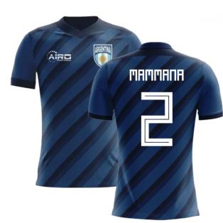 2020-2021 Argentina Away Concept Football Shirt (Mammana 2)