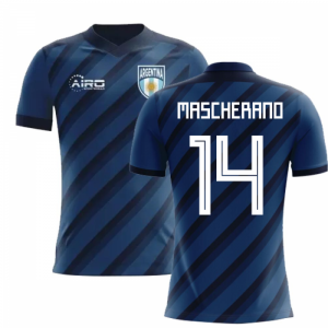 2018-2019 Argentina Away Concept Football Shirt (Mascherano 14)