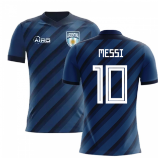 2020-2021 Argentina Away Concept Football Shirt (Messi 10)
