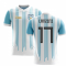 2020-2021 Argentina Home Concept Football Shirt (Lanzini 17)