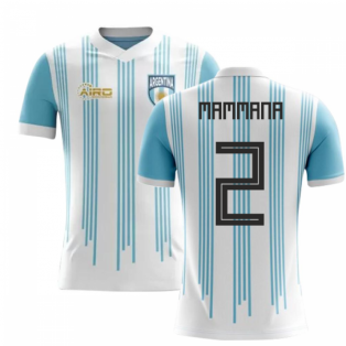2020-2021 Argentina Home Concept Football Shirt (Mammana 2)