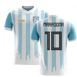 2020-2021 Argentina Home Concept Football Shirt (Maradona 10)