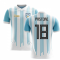 2020-2021 Argentina Home Concept Football Shirt (Pastore 18)