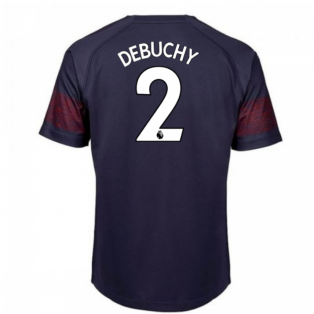 2018-2019 Arsenal Puma Away Football Shirt (Debuchy 2)