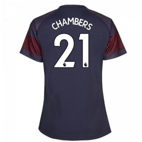 2018-2019 Arsenal Puma Away Ladies Shirt (Chambers 21)
