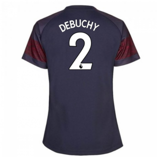2018-2019 Arsenal Puma Away Ladies Shirt (Debuchy 2)