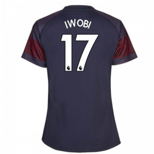 2018-2019 Arsenal Puma Away Ladies Shirt (Iwobi 17)