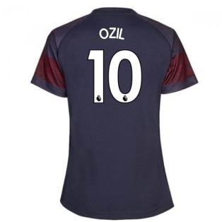2018-2019 Arsenal Puma Away Ladies Shirt (Ozil 10)