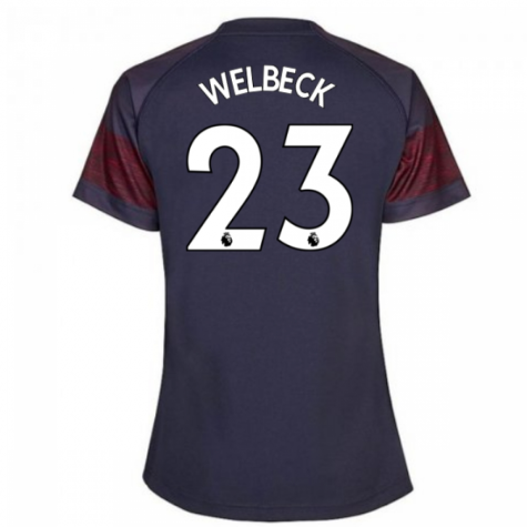 2018-2019 Arsenal Puma Away Ladies Shirt (Welbeck 23)
