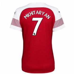 2018-2019 Arsenal Puma Home Ladies Shirt (Mkhitaryan 7)