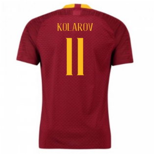 2018-2019 AS Roma Home Nike Football Shirt (Kolarov 11)