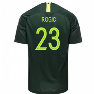 2018-2019 Australia Away Nike Football Shirt (Rogic 23)