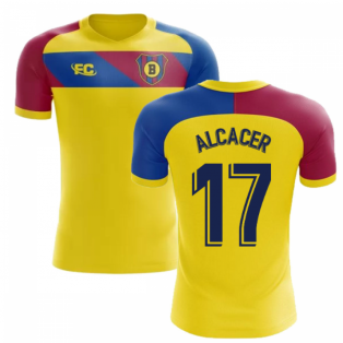 2018-2019 Barcelona Fans Culture Away Concept Shirt (Alcacer 17)