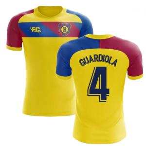 2018-2019 Barcelona Fans Culture Away Concept Shirt (Guardiola 4)