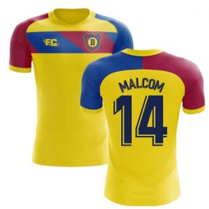 2018-2019 Barcelona Fans Culture Away Concept Shirt (Malcom 14) - Womens