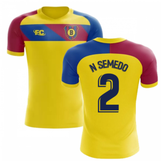 2018-2019 Barcelona Fans Culture Away Concept Shirt (N Semedo 2) - Baby