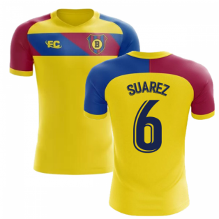 2018-2019 Barcelona Fans Culture Away Concept Shirt (Suarez 6)