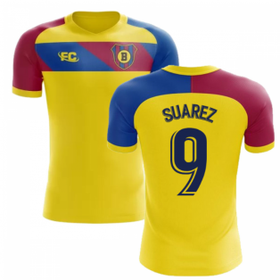 58247a7491a 2018-2019 Barcelona Fans Culture Away Concept Shirt (Suarez 9)