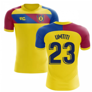 2018-2019 Barcelona Fans Culture Away Concept Shirt (Umtiti 23)