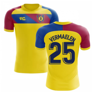2018-2019 Barcelona Fans Culture Away Concept Shirt (Vermaelen 25)
