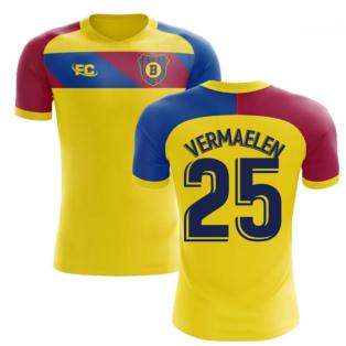 2018-2019 Barcelona Fans Culture Away Concept Shirt (Vermaelen 25)