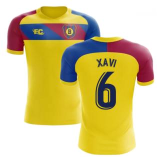 2018-2019 Barcelona Fans Culture Away Concept Shirt (Xavi 6)