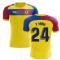 2018-2019 Barcelona Fans Culture Away Concept Shirt (Y Mina 24) - Little Boys
