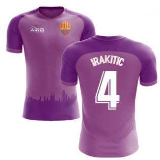 2018-2019 Barcelona Third Concept Football Shirt (I.Rakitic 4)
