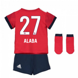 2018-2019 Bayern Munich Adidas Home Baby Kit (Alaba 27)