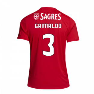 2018-2019 Benfica Adidas Home Football Shirt (Grimaldo 3)