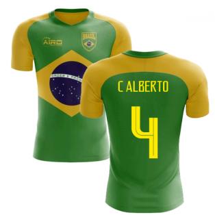 2020-2021 Brazil Flag Concept Football Shirt (C Alberto 4)