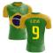 2018-2019 Brazil Flag Concept Football Shirt (G Jesus 9)
