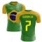 2020-2021 Brazil Flag Concept Football Shirt (Garrincha 7)