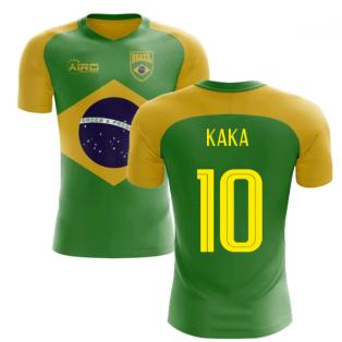 2020-2021 Brazil Flag Concept Football Shirt (Kaka 10)
