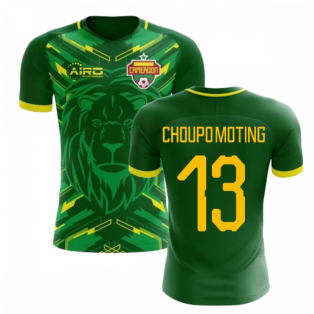 2018-2019 Cameroon Home Concept Football Shirt (Choupo-Moting 13)