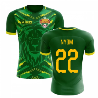 2018-2019 Cameroon Home Concept Football Shirt (NYOM 22)