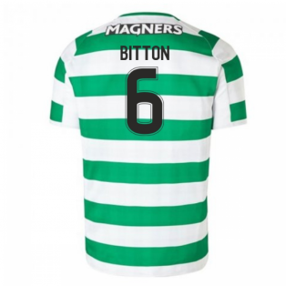 2018-2019 Celtic Home Football Shirt (Bitton 6)