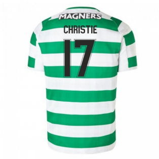 2018-2019 Celtic Home Football Shirt (Christie 17) - Kids