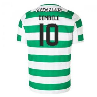 2018-2019 Celtic Home Football Shirt (Dembele 10)