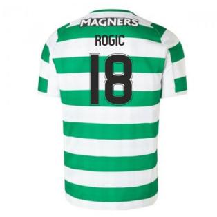 2018-2019 Celtic Home Football Shirt (Rogic 18) - Kids