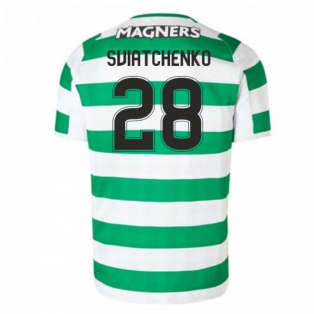 2018-2019 Celtic Home Football Shirt (Sviatchenko 28)