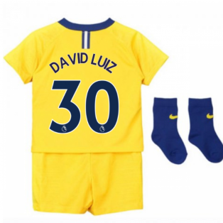 2018-2019 Chelsea Away Nike Baby Kit (David Luiz 30)