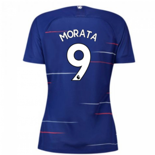 2018-2019 Chelsea Home Nike Ladies Shirt (Morata 9)