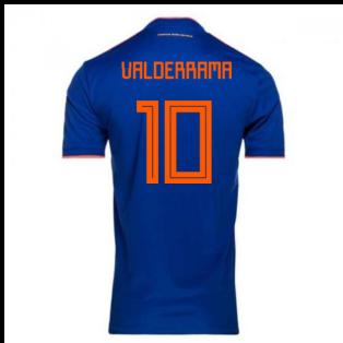 2018-2019 Colombia Away Adidas Football Shirt (Valderrama 10) - Kids