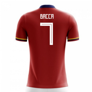 2018-2019 Colombia Away Concept Football Shirt (Bacca 7)